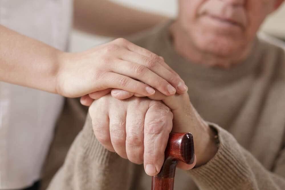 A man undergoing Parkinson_s disease treatment