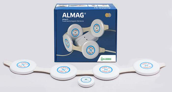 The Almag PEMF therapy device to strengthen the low immune system